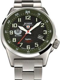 Kentex自衛隊腕時計:J-SOLAR陸上自衛隊ソーラースタンダードメタルバンドモデルS715M-04正規品JGSDFケンテックス