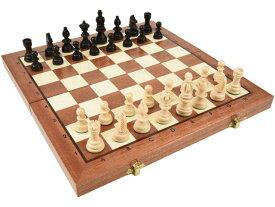 ポーランド製 木製チェスセット chess set 寄木細工:Orion(オリオン)35cm×35cm ハンドメイド 手作り 駒 盤 数量限定販売【楽ギフ_包装】