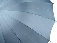 前原光榮商店おしゃれで丈夫な無地16本骨雨傘TRAD-16(ブルーグレー)前原傘かさ皇室御用達前原光栄商店製紳士用男【楽ギフ_包装】