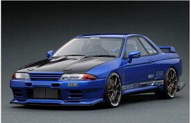 1/18 TOP SECRET GT-R (VR32) Blue Metallic IG1522【ignition model/イグニッションモデル】【4573448885226】