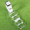 【プライスダウン】ゴルフ ネームプレート ネームタグ アクリル 透明(クリア) 型破り ゴルフバッグ ネームプレート 選…