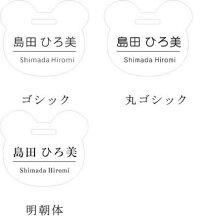 3書体【明朝体・ゴシック体・丸ゴシック体】