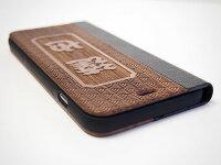送料無料/木製iPhone6/iPhone6plusケース手帳型/和柄名入れ無料