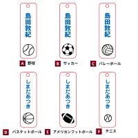 【縦型スポーツのボール】デザイン