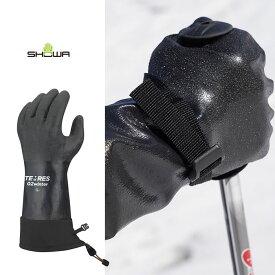 【30〜1日専用割引クーポンあり】防水グローブ テムレス SHOWA TEMRES 02 WINTER BLK (LL) glove スキー バイク [0105]