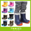 スノーブーツ キッズ プーキーズ POOKIES キッズ ジュニア PK-EB510 インナーボア付EVAスノーブーツ 軽量防寒ブーツ …