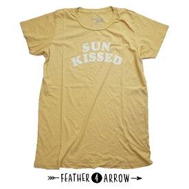 【全品ポイント10倍〜!6/29まで】レディース Tシャツ フェザー4アロー FEATHER 4 ARROW [ Sun Kissed Everyday Tee ] 半袖 親子 お揃い [メール便] [0401]【SPS06】
