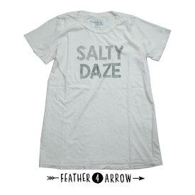 【全品ポイント10倍〜!6/29まで】レディース Tシャツ フェザー4アロー FEATHER 4 ARROW [ Salty Daze Everyday tee ] 半袖 [メール便] [0401]【mday_d19】【SPS06】