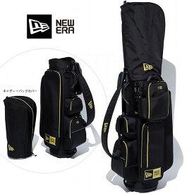 NEW ERA ニューエラ ゴルフ Caddie Bag golf (BLK/GOLD) 11404388 キャディーバッグ newera フルセット用