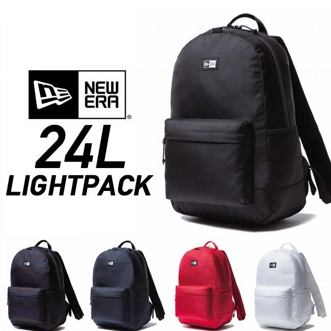 ニューエラ バックパック NEWERA LIGHT PACK [24L] 11404230/229/228/226/225 リュック デイパック バッグ 鞄 カバン bag