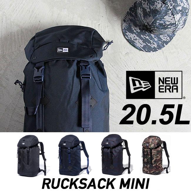 ニューエラ バックパック NEWERA RUCKSACK MINI [20.5L] リュック ラックサック バッグ デイパック 鞄 カバン bag キャップ スナップバック [売れ筋] 【15P】