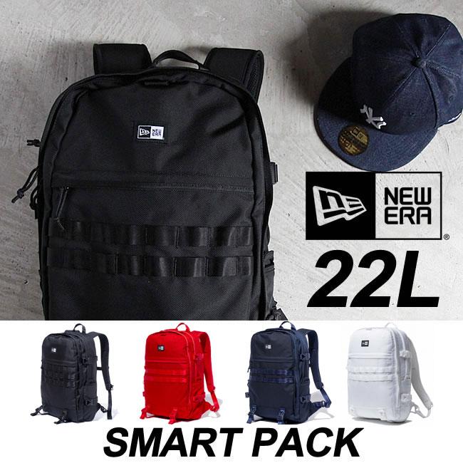 ニューエラ バックパック NEWERA SMART PACK [22L] リュック スマートパック バッグ デイパック 鞄 カバン bag キャップ スナップバック [売れ筋]【15P】