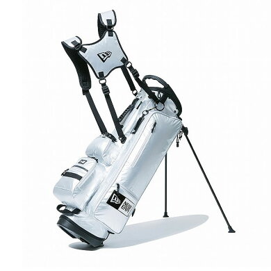 ニューエラゴルフバッグNEWERAGOLFCADDIEBAGSTANDX-PAC(11556647)GRYGRYキャディーバッグゴルフクラブケースNEWERA[0205]