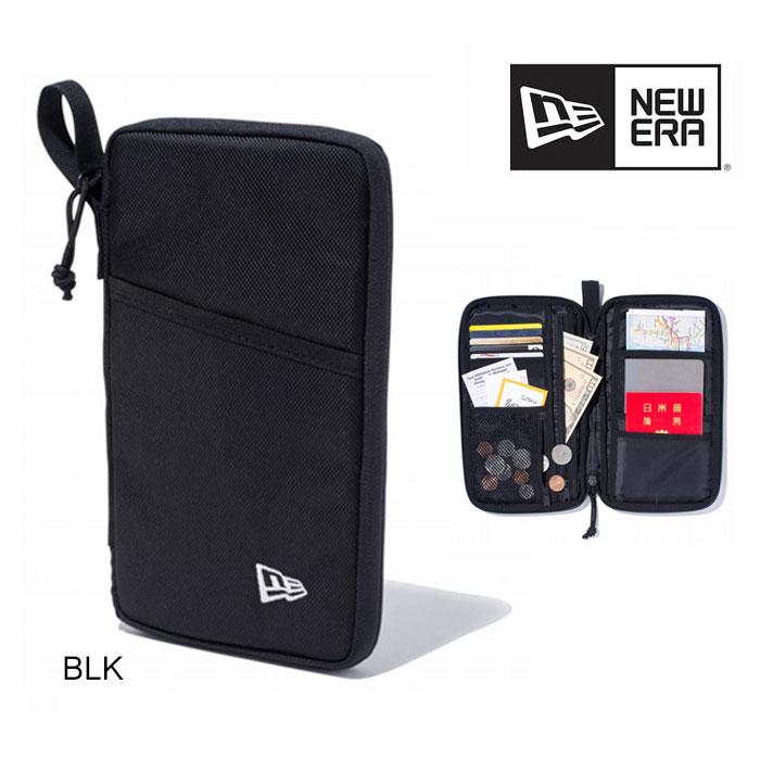 ニューエラ パスポートケース NEWERA [ TRAVEL SERIES PASSPORT CASE ] BLK (11901464) [0315]