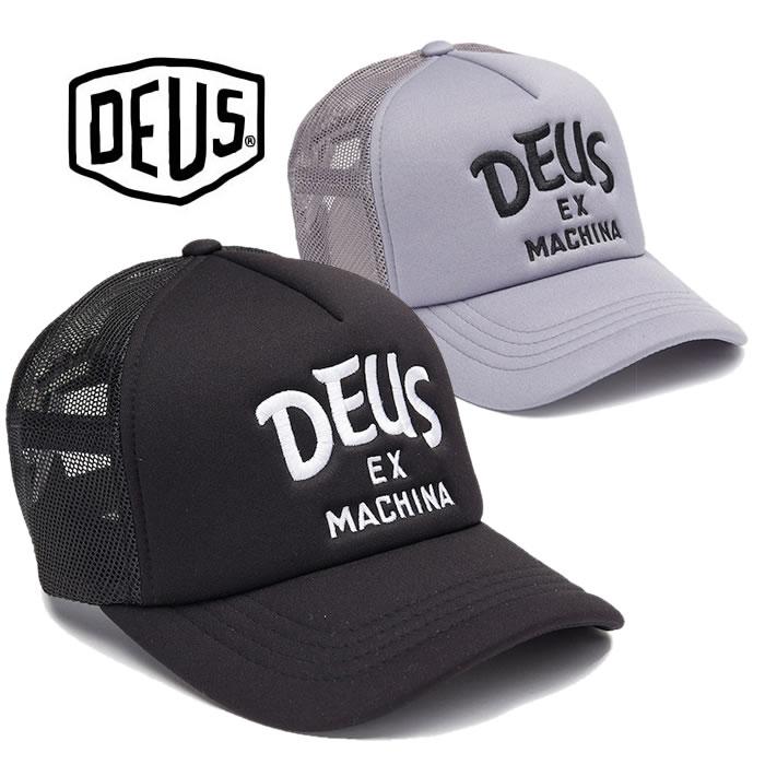 デウスエクスマキナ メッシュキャップ Deus Ex Machina [DMF77757] CURVE TRUCKER 帽子 デウス