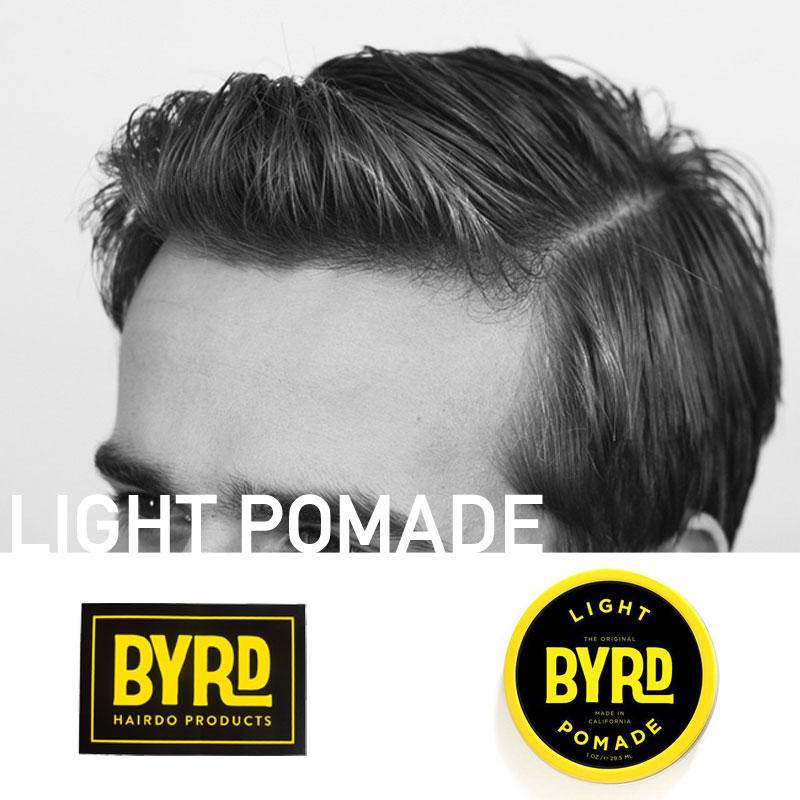 【全品ポイント5倍-15倍&SALE】あす楽 ポマード 水性[シリーズでもっともツヤがでます]LIGHT POMADE [42g]ライトポマード BYRD バード カリフォルニア 整髪料 ワックス スタイリング剤 [売れ筋] ギフト MAD IN USA