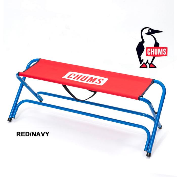 チャムス ベンチ [ CH62-1331 ] チャムスベンチ CHUMS BENCH (RED/NAVY)アウトドアチェア 椅子 イス