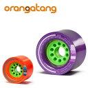 オランガタンウィール KAGEL ケゲル[80mm]【 ORANGATANG / オランガタン 】 skateboard スケートボード ロンスケ sk8 ls...