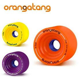 オランガタンウィール IN HEAT インヒート [75mm]【 ORANGATANG / オランガタン 】 skateboard スケートボード ロンスケ sk8 lsk8 ソフトウィール
