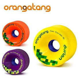 オランガタンウィール DURIAN ドリアン [75mm]【 ORANGATANG / オランガタン 】 skateboard スケートボード ロンスケ sk8 lsk8 ソフトウィール