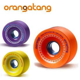 オランガタンウィール MORONGA モロンガ [72mm]【 ORANGATANG / オランガタン 】 skateboard スケートボード ロンスケ sk8 lsk8 ソフトウィール