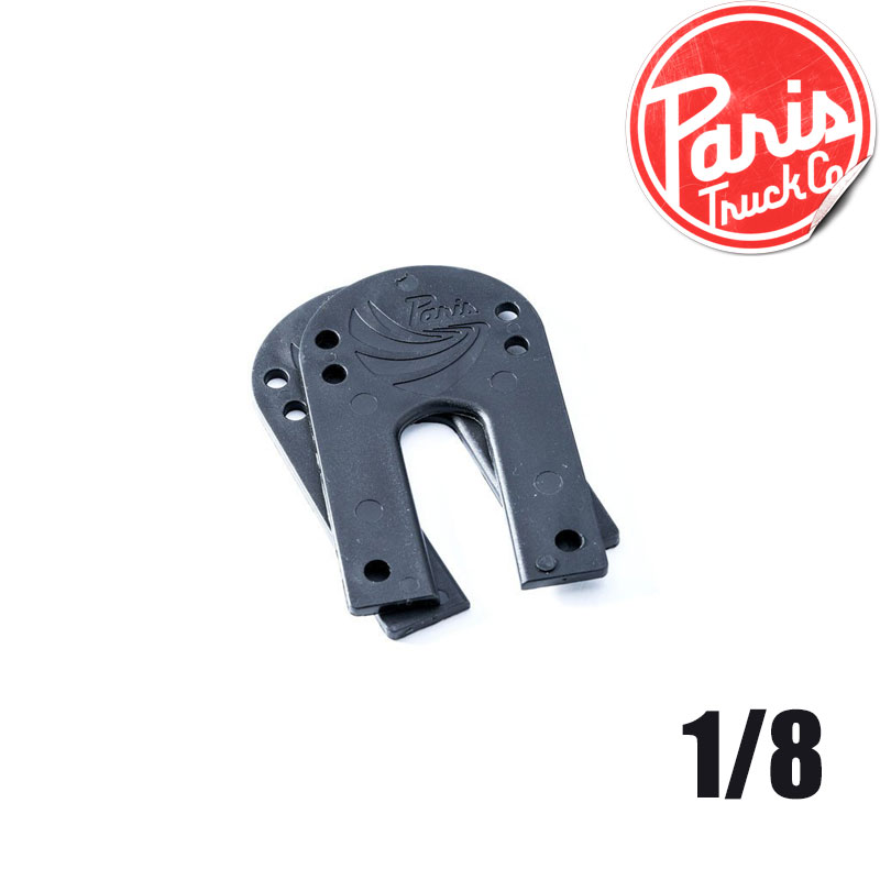 【全品ポイント5倍-15倍&SALE】ライザー 1/8 RISER[2枚セット]ライザーパッド【 PARIS TRUCK / パリス 】 skateboard スケートボード sk8 トラック[メール便対応]
