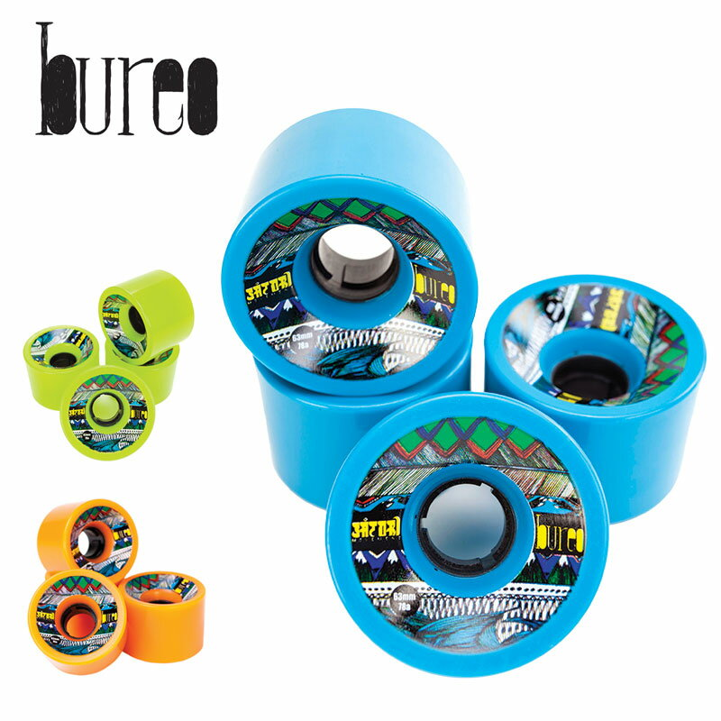 ウィール BUREO x SATORI / ブレオ x サトリ SATORI ECO CRUISER WHEELS【CSV0516】【SPS】