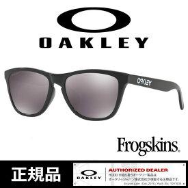日本正規品 オークリー フロッグスキン サングラス OAKLEY Frogskins / Polished Black (Prizm Black Iridium) Asian Fit【OO9245-62】プリズムレンズ【SPS12】