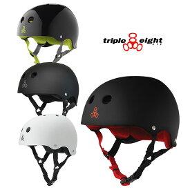 【20日SPU & 楽天カード利用で最大P17.5倍】トリプルエイト ヘルメット triple eight [ T818S ] SWEATSAVER LINER HELMET スケート BMX 開心那 [0601]