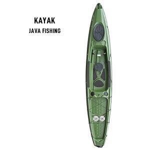 【西濃運輸営業所止め配送】KAYAKS 1人乗りカヤック [100097] JAVA FISHING【キャンセル・代引き不可】ボート レジャーボート