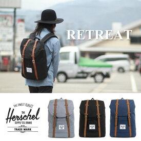 【5%還元店!】Herschel Supply ハーシェル 《 RETREAT 》[19.5L]10066 リュック バック バックパック ハーシェルサプライ メンズ レディース