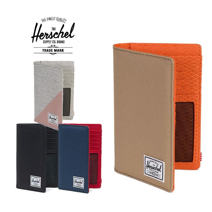 ハーシェル パスポートケース Herschel [ SEARCH ](10399)パスポートホルダー カードケース トラベルグッズ [メール便][1215]