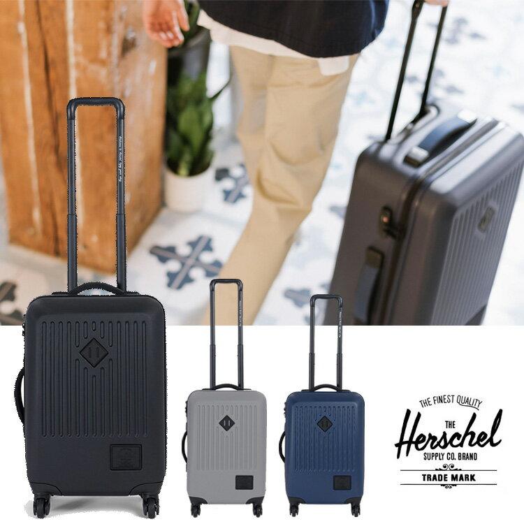ハーシェル スーツケース Herschel [ TRADE SMALL ] 40L BLK トレード バッグ 鞄 ハーシェルサプライ Herschel supply [1210]【SPO】