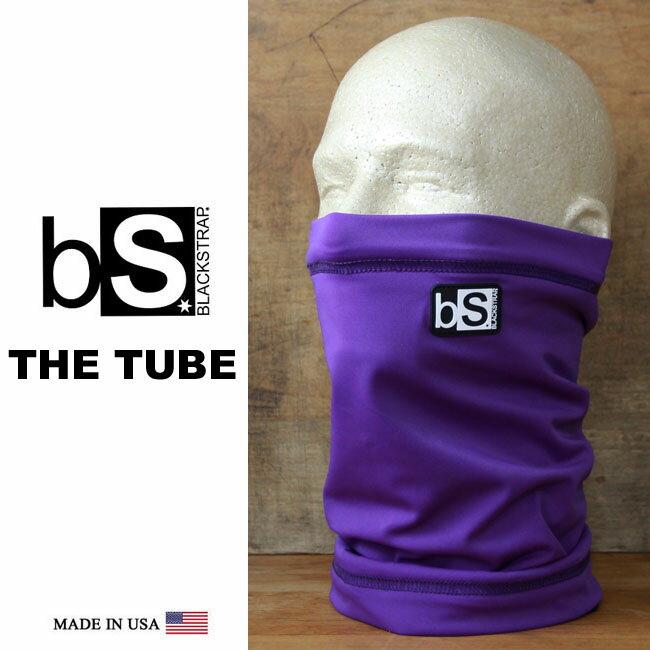 フェイスマスク スノーボード 防寒 [メール便対応] THE TUBE [BS22] [DEEP PURPLE] Blackstrap ブラックストラップ 【MADE IN USA】facemask 日焼け止め【17SP】修正