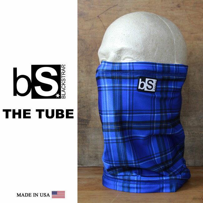 フェイスマスク スノーボード 防寒 [メール便対応] THE TUBE [BS36] [ROYAL PLAID] Blackstrap ブラックストラップ 【MADE IN USA】facemask 日焼け止め【17SP】修正