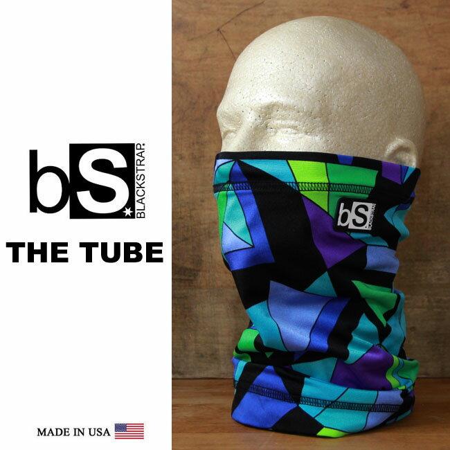 【全品ポイント5倍-15倍&SALE】フェイスマスク スノーボード 防寒 [メール便対応] THE TUBE [BS37] [SHAPE SHIFTER] Blackstrap ブラックストラップ 【MADE IN USA】facemask 日焼け止め