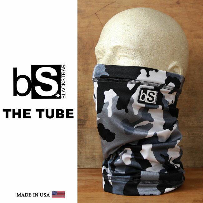 フェイスマスク スノーボード 防寒 [メール便対応] THE TUBE [BS38] [SNOW ISSUE] Blackstrap ブラックストラップ 【MADE IN USA】facemask 日焼け止め【17SP】修正