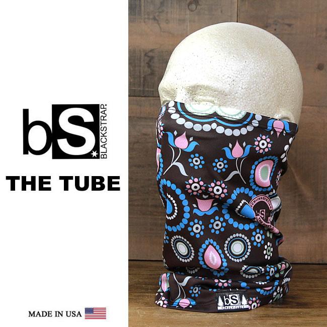 【全品ポイント5倍-15倍&SALE】フェイスマスク スノーボード 防寒 [メール便対応] THE DAILY TUBE [BS43] [BROWNIE] Blackstrap ブラックストラップ 【MADE IN USA】facemask 日焼け止め