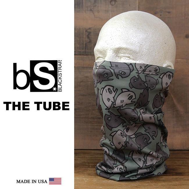 フェイスマスク スノーボード 防寒 [メール便対応] THE DAILY TUBE [BS51] [OLIVE]Blackstrap ブラックストラップ 【MADE IN USA】facemask 日焼け止め【SPS】
