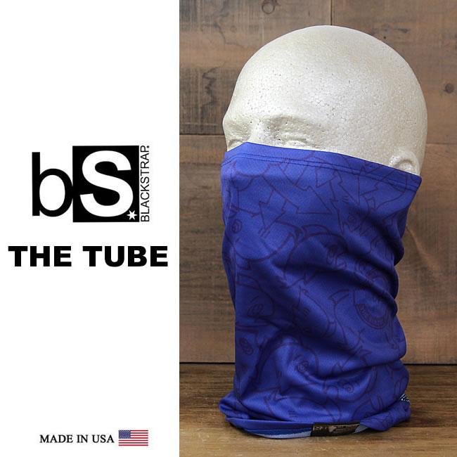 【全品ポイント5倍-15倍&SALE】子供用 ネックウォーマー スノーボード [メール便対応] THE DAILY TUBE [BS52] [ROYAL] Blackstrap ブラックストラップ 【MADE IN USA】facemask 日焼け止め