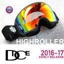 スノーボード ゴーグル 【 偏光レンズ 】 DICE ゴーグル HIGH ROLLER《17HR-6》EARLY RELEACE MODEL ダイス ハイローラ...