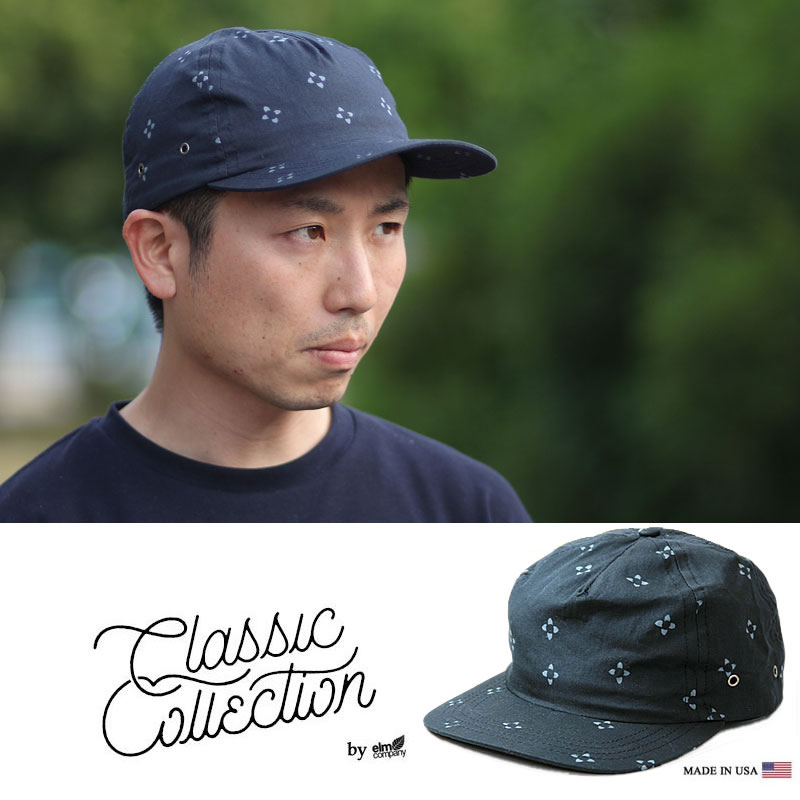 Classic Collection Hoffman CC17M VISTA-5 Panel Hat (H.NAVY) 5パネル キャップ 帽子 米国製 made in USA【CSV0415】 3tz