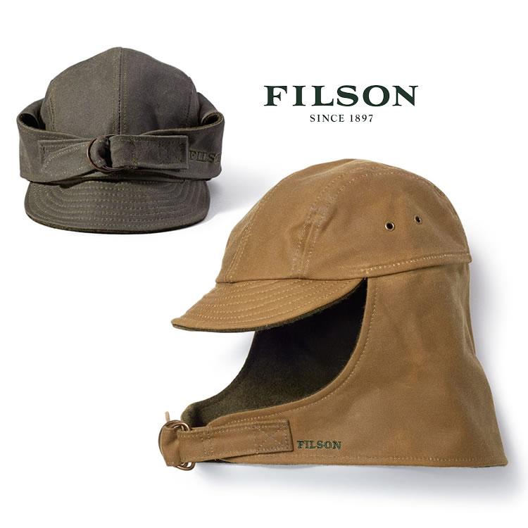 【全品ポイント5倍-15倍&SALE】フィルソン キャップ Filson [#60063] TIN CLOTH WILDFOWL HAT 帽子 ハット 米国製 made in USA