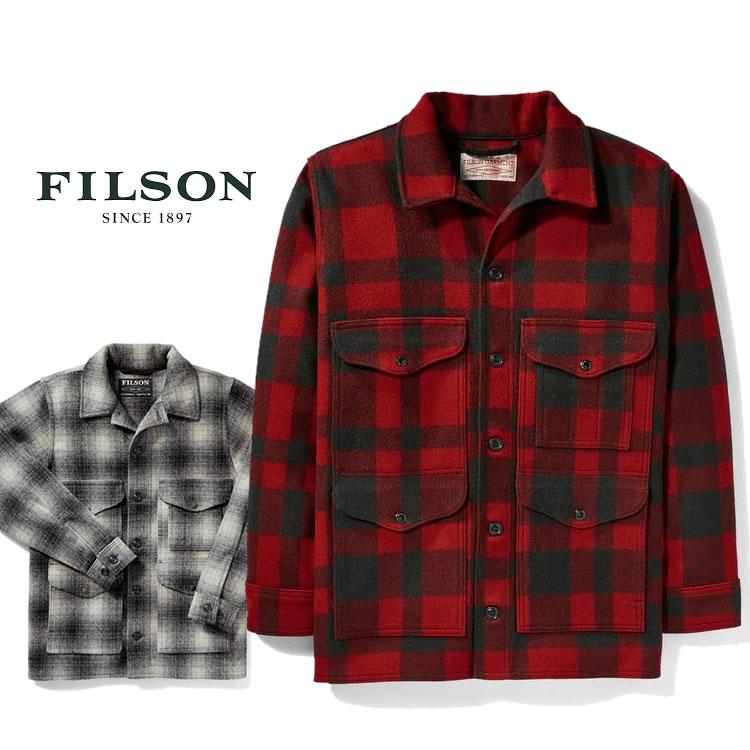 フィルソン ウールジャケット Filson [#10043] MACKINAW WOOL CRUISER マッキーノ クルーザー ウールアウター マッキーノウール 米国製 made in USA