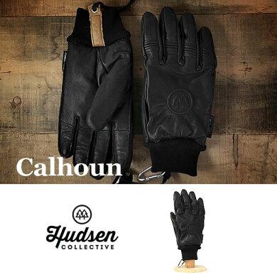 HUDSENグローブハドソンCALHOUN【HC-30M】【5本指タイプ】【メンズ】スキースノーボードスノボスノボースノーグローブスキーグローブメンズ男性用