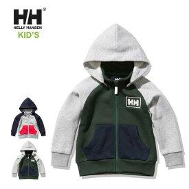 ヘリーハンセン キッズ パーカー Helly hansen [ HJ32053 ] K LOGO FZ SWEAT HD ロゴフルジップスウェットフーディー子供服 [210218]【Y】
