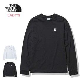 ノースフェイス レディース 長袖Tシャツ THE NORTH FACE [ NTW32139 ] W'S L/S SM BOX LOGO T スモールボックスロゴ ロンT [メール便] [210129]