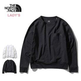ノースフェイス レディース ロンT THE NORTH FACE [ NTW61961 ] L/S AIRY RELAX TEE ロングスリーブエアリーリラックスティー 長袖Tシャツ ポケット [210217]