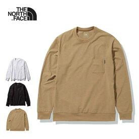 ノースフェイス ロンT THE NORTH FACE [ NT11967 ] L/S AIRY RELAX TEE ロングスリーブエアリーリラックスティー 長袖Tシャツ ポケット [210217]