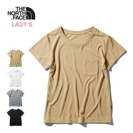 ノースフェイス レディース ポケット Tシャツ THE NORTH FACE [ NTW31935 ] WS S/S POCKET TEE 半袖 レディース [210330][メール便]【Y】